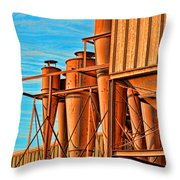 Industrial Detail Photoart Throw Pillow