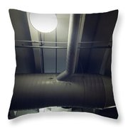 Industrial Interior Throw Pillow