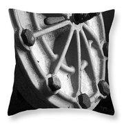 Industrial Object Art - Bw Throw Pillow