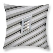 Industrial Photography - Silver Lining By Sharon Cummings Throw Pillow