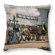 Industrial Shaving Machine 1770 Throw Pillow