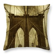 Industrial Spiders Throw Pillow