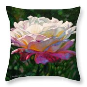 Indwelling Light Throw Pillow
