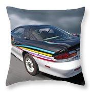 Indy 500 Pace Car 1993 - Camaro Z28 Throw Pillow