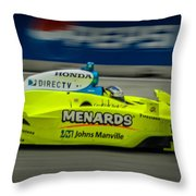 Indy Car 20 Throw Pillow