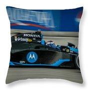 Indy Car 7 Throw Pillow