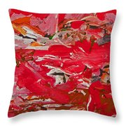 Infancy Of Life On Mars Throw Pillow