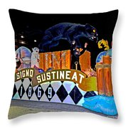 Infant Mystics Emblem Throw Pillow