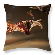 Infected Throw Pillow