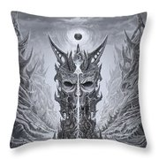 Infinite Death Throw Pillow