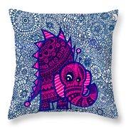 Infinite Pachyderm  Throw Pillow