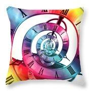 Infinite Rainbow 2 Throw Pillow