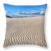 Infinite Sand Patterns Throw Pillow