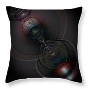 Echoes Of A Soul 2 Throw Pillow