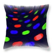 Infinite Spots Zoom 20 Throw Pillow