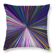 Infinity Abstract Throw Pillow