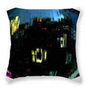 Infinity Cityscape 1  Throw Pillow