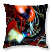 Infinity Dancer 7 Throw Pillow