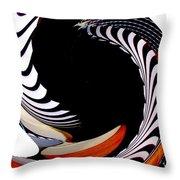 Infinity Dancer 8 Throw Pillow
