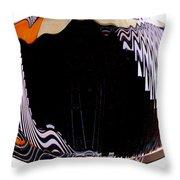 Infinity Drum 1 Throw Pillow