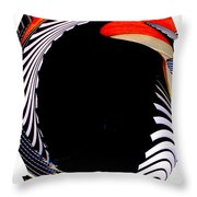 Infinity Drum 3 Throw Pillow