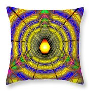 Infinity Gateway Nine Banner Throw Pillow