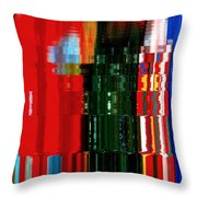 Infinity Jewel Mosaic  5 Throw Pillow