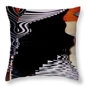 Infinity Kiss 2 Throw Pillow