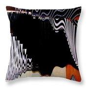 Infinity Kiss Horizontal 2 Throw Pillow