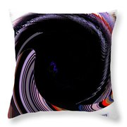 Infinity Mask 1 Throw Pillow