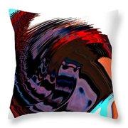 Infinity Mask 5 Throw Pillow