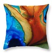 Infinity Of Life Throw Pillow