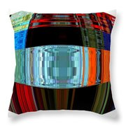 Infinity Ring 2 Throw Pillow