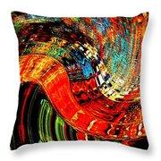 Infinity Sound Wave 2 Throw Pillow