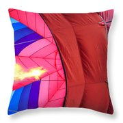 Inflation Throw Pillow