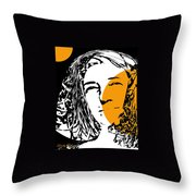 Influence Of The Moon Throw Pillow