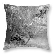Infrared 2 Throw Pillow