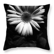 Infrared - Flower 05 Throw Pillow