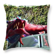 Infusion Lounge Throw Pillow