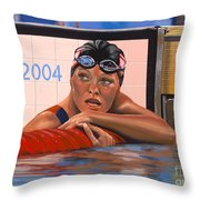 Inge De Bruijn Throw Pillow