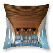 Ingelheim Organ Throw Pillow