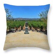 Inglenook Vineyard -3 Throw Pillow
