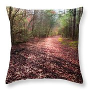 Inhale The Forest Throw Pillow