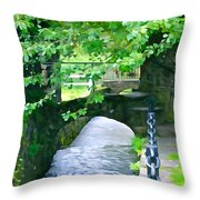 Inistioge Park Throw Pillow