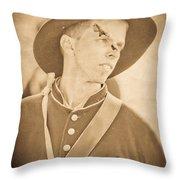 Injured Soldier Throw Pillow