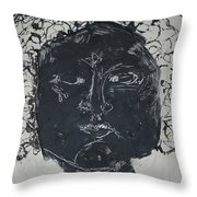 Ink And Four 1 Throw Pillow