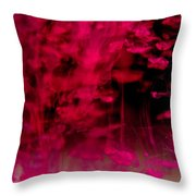 Ink Bath 4 Throw Pillow