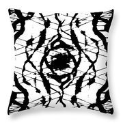 Ink Spot Throw Pillow