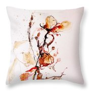Ink_r1 Throw Pillow