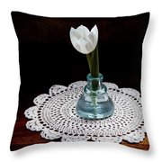 Inkwell Beauty Throw Pillow